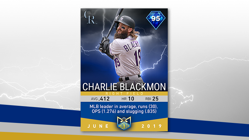 June Monthly Awards featuring Charlie Blackmon