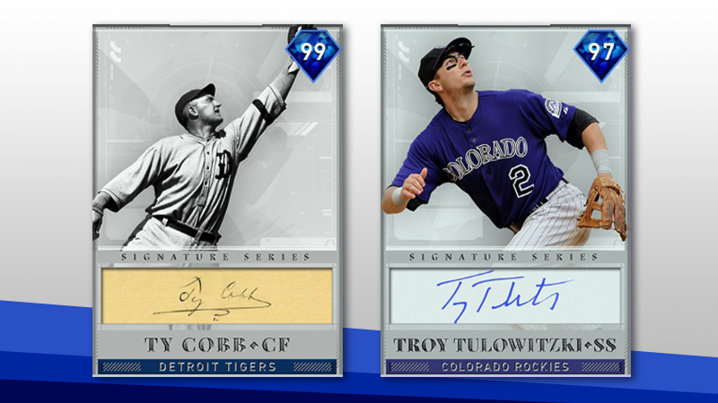 Ty Cobb & Troy Tulowitzki New Ranked Seasons Rewards