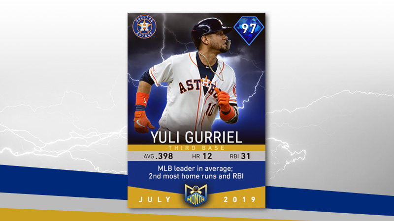 Yuli Gurriel and the July Flashbacks