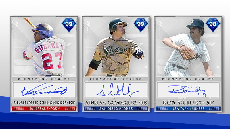 Vladimir Guerrero is the Signature Teams Collection Reward