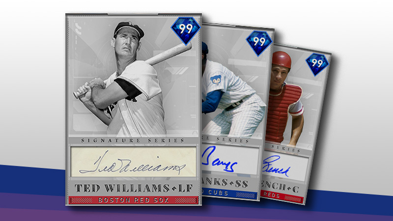 8th Inning Program: Ted Williams, Ernie Banks, and Johnny Bench